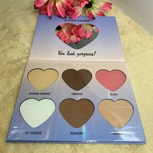 City Color Hello Beautiful Face Palette NWT